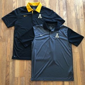 Nike Dri-Fit Appalachian State golf polo, M